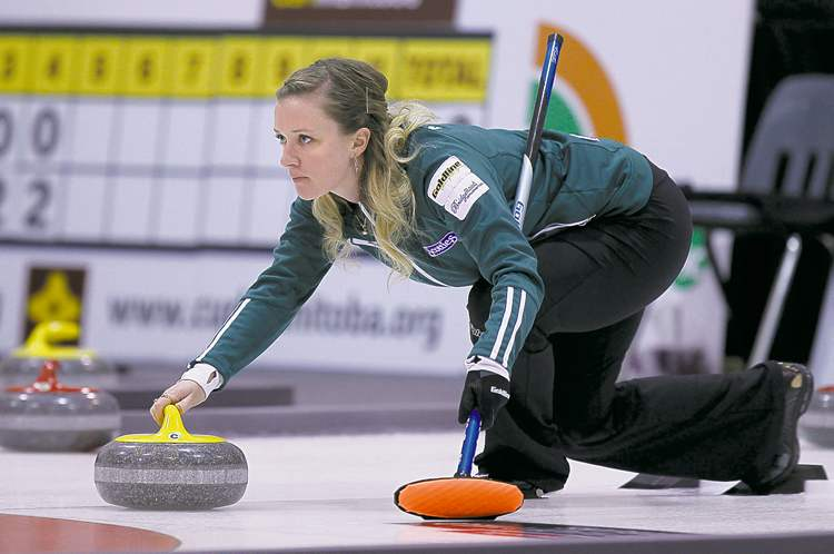 Chelsea Carey joins Jennifer Jones as the second Manitoba women's rink to qualify for Roar of the Rings.