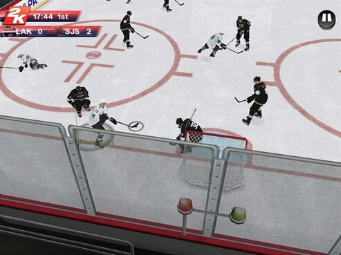 After a four-year absence, NHL 2K is back and looking to fill a void in the hockey game mobile market. THE CANADIAN PRESS/HO