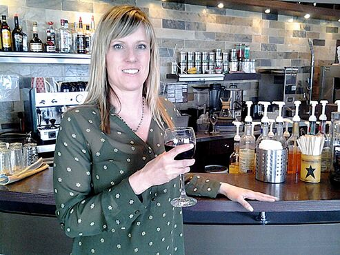 Danielle Correia of Joe Black Coffee Bar, which is located right across the street from Assiniboine Park's Portage Avenue entrance.