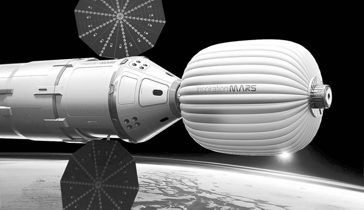 Inspiration Mars / The Associated Press