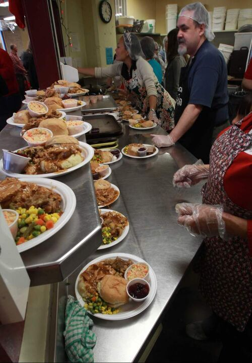 For some, Siloam Mission's turkey dinner is the only Christmas they get.