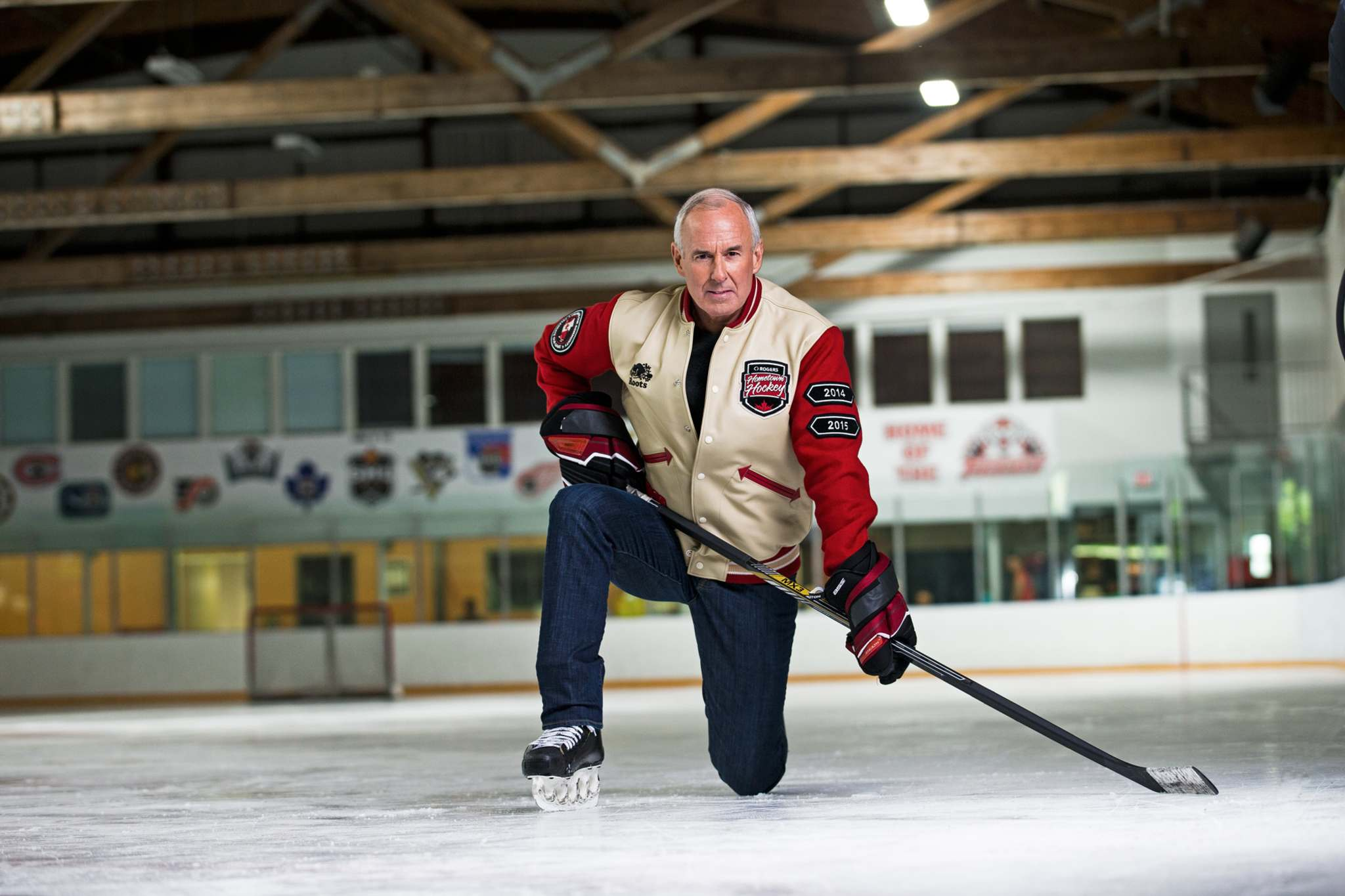 SUPPLIED</p><p>Ron MacLean is in Winnipeg this weekend for the final Hometown Hockey NHL broadcast of the season.</p>