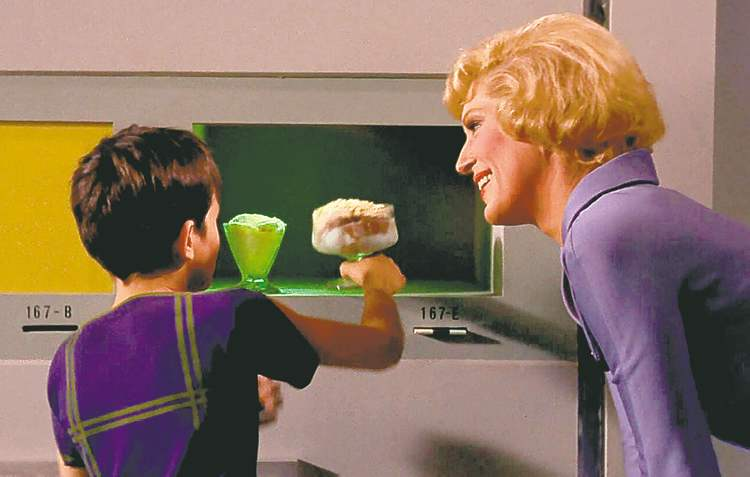 Star Trek food replicator.