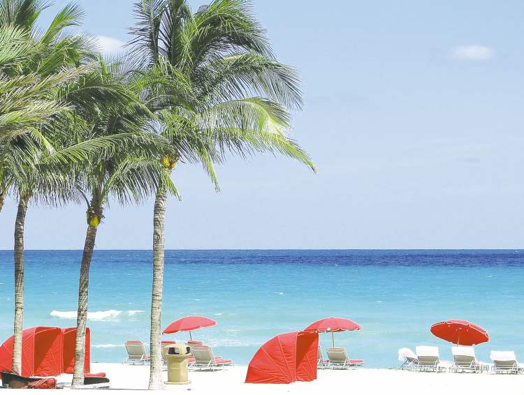 More than 600,000 Canadians vacation in South Florida annually and about  35 per cent stay in the Aventura/Sunny Isles Beach areas.