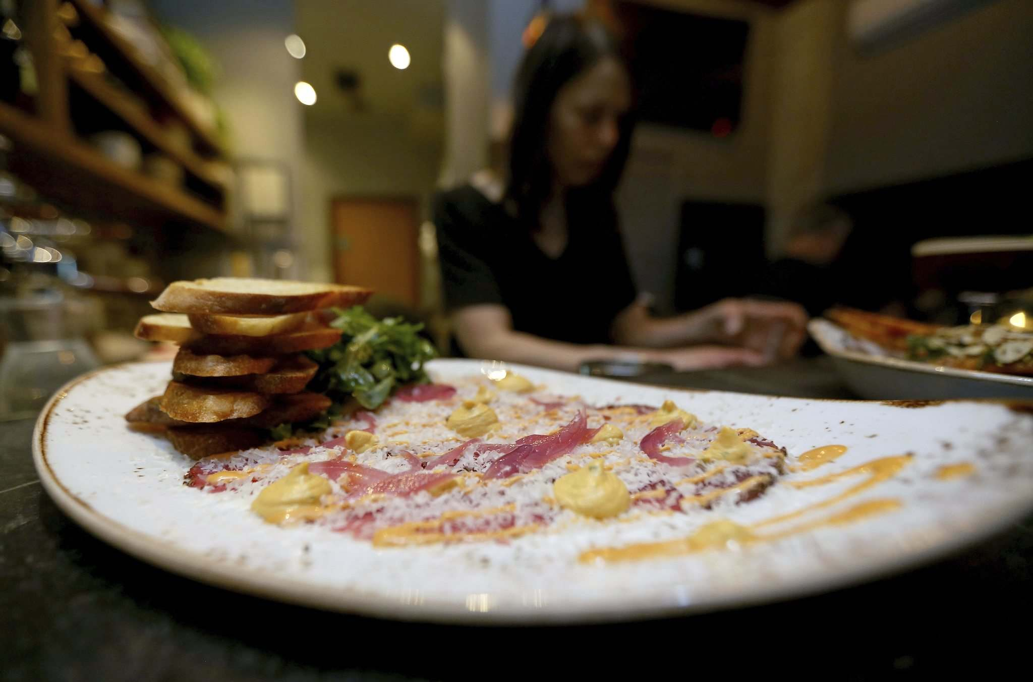 TREVOR HAGAN / WINNIPEG FREE PRESS</p><p>Beef carpaccio at Close Co.</p>
