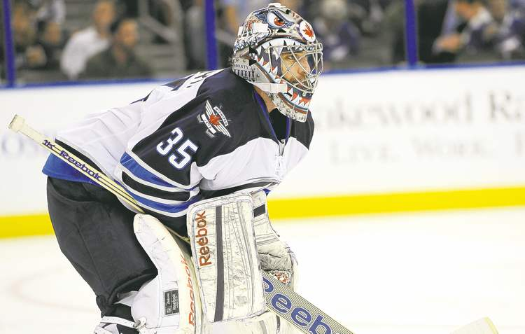 Goalie Al Montoya will be back in a Jets uni next season after inking another one-year deal to back up Ondrej Pavelec.