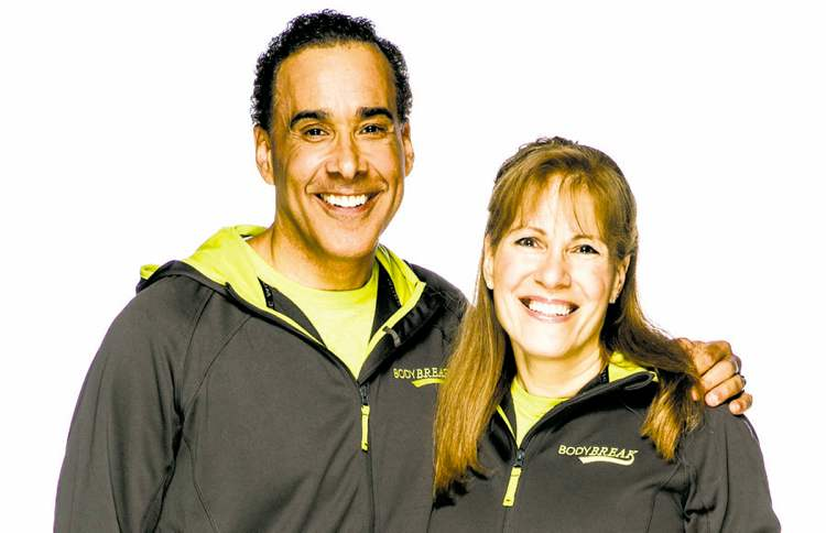 Amazing Race Canada competitors Hal Johnson and Joanne McLeod.