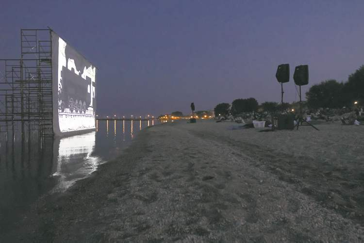 Beach screenings return to the Gimli Film Festival this year.