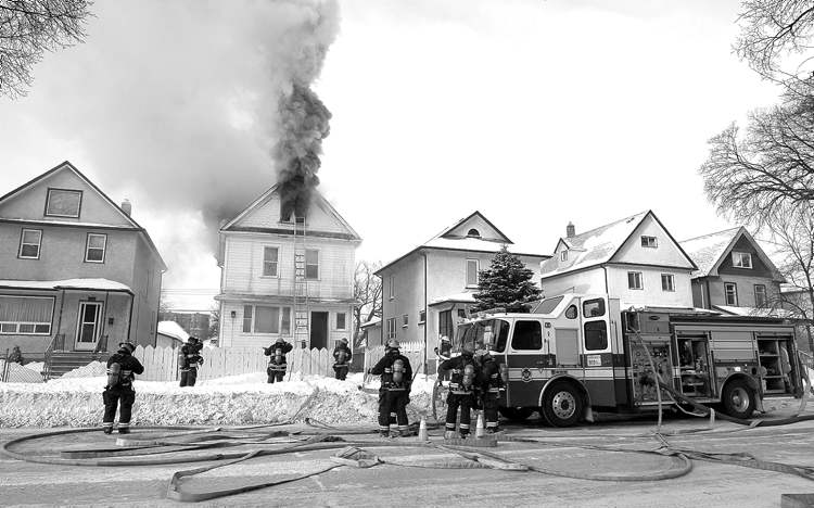 Ken Gigliotti's photo of a Jan. 14 fire illustrated a July 17 story on rooming houses.