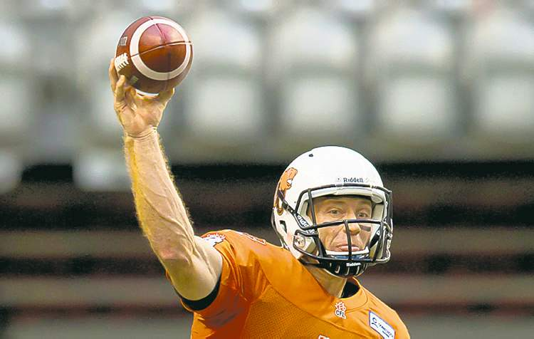 B.C. Lions' quarterback Travis Lulay insists he's not focused on his own numbers.