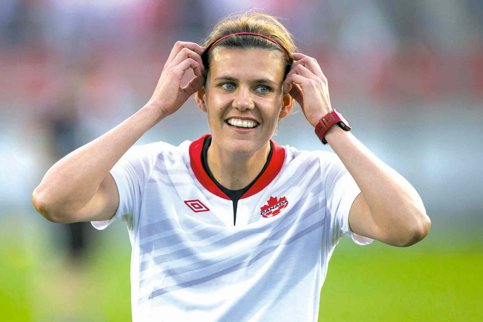 Canada's soccer star Christine Sinclair will join the Walk of Fame on Oct. 27 in Toronto.