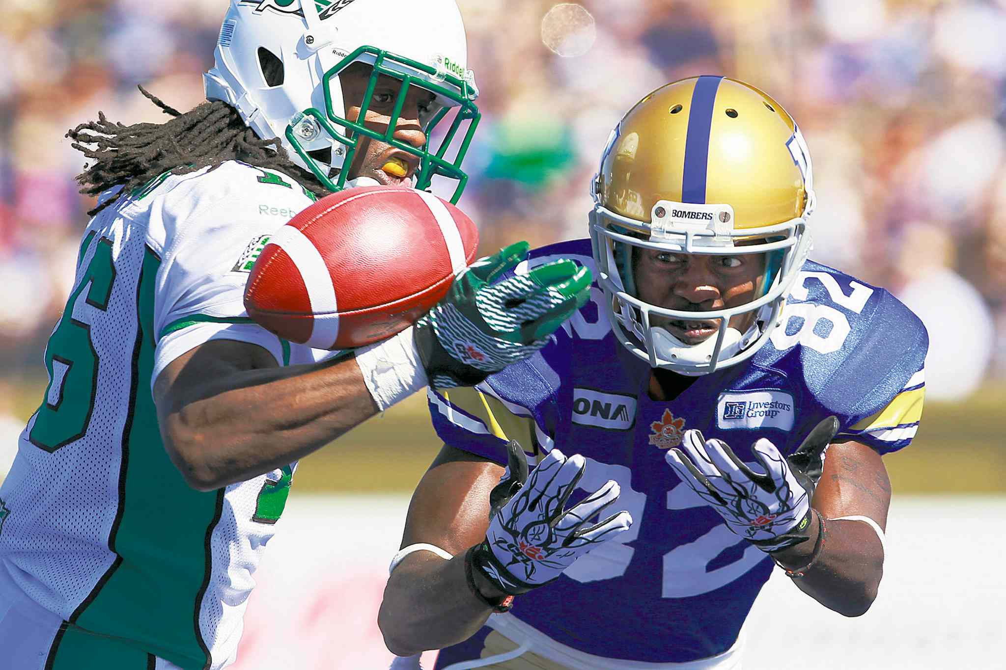 John Woods / the canadian press archivesReceiver Terrence Edwards doesn�t know when he�ll play his last game, but says when that day comes it will be as a member of the Blue Bombers.
