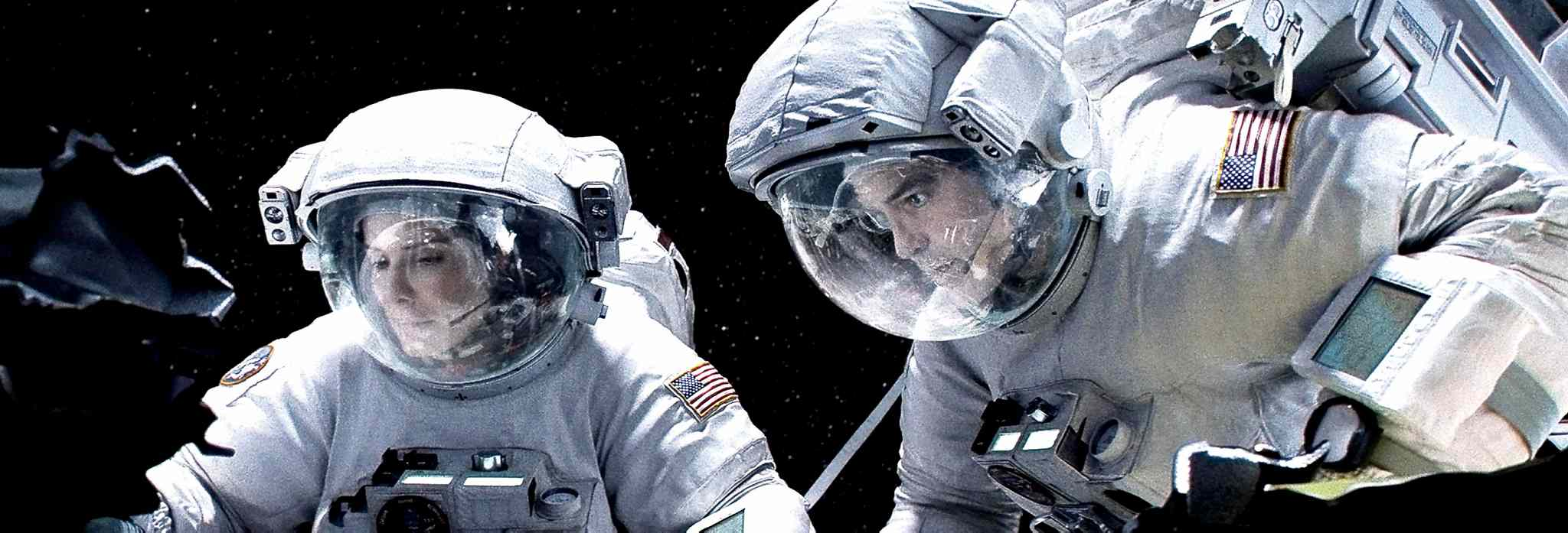 Warner Bros. Pictures / MCTSandra Bullock and George Clooney star in �Gravity.�