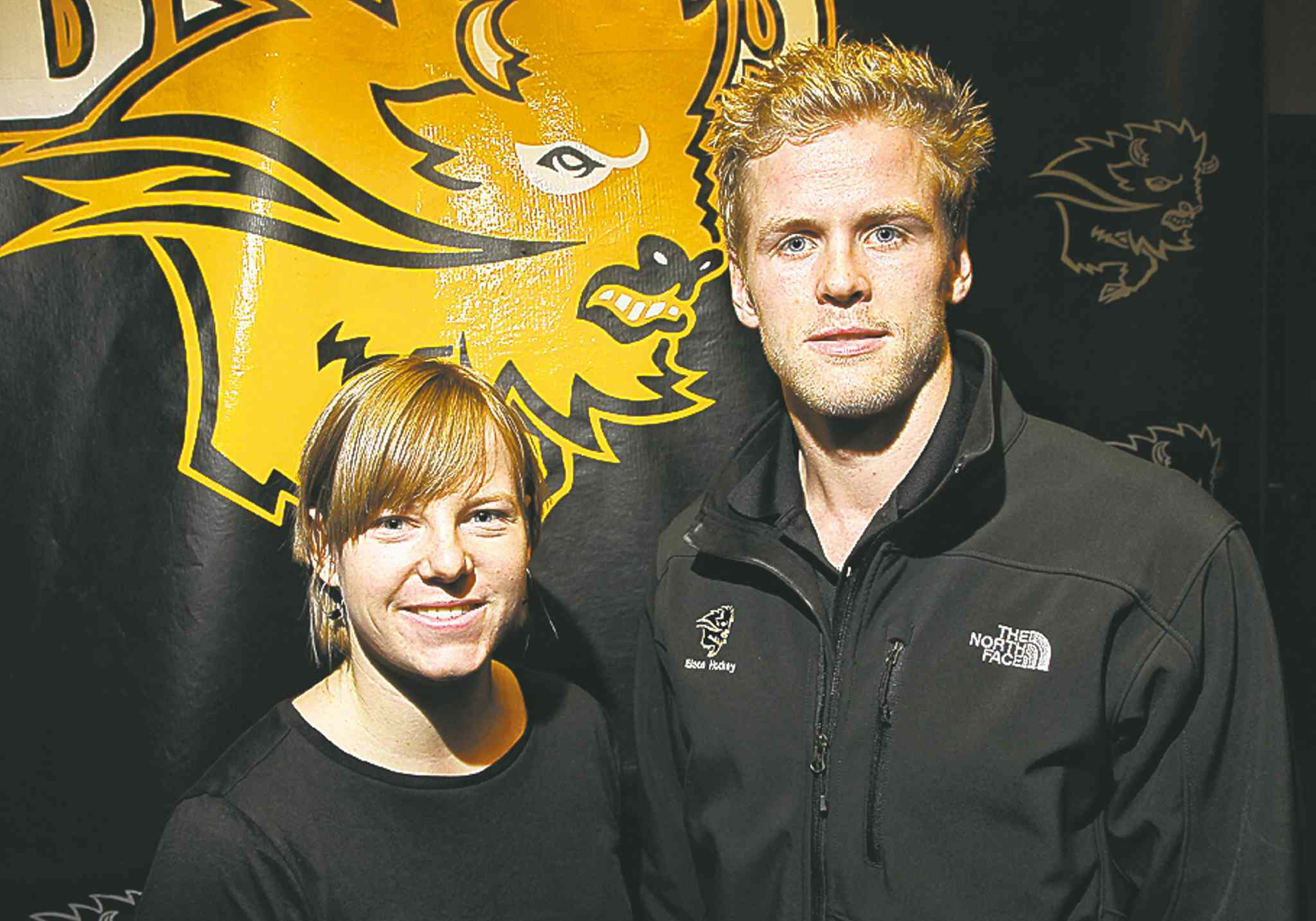 Amy Lee and Dane Crowley have been reinstated as Bisons team captains.