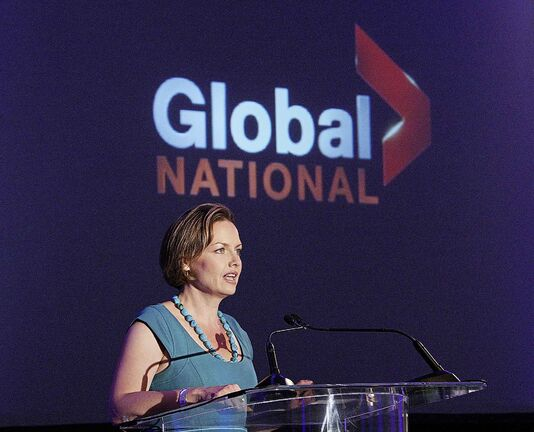Manitoban Dawna Friesen is the chief television anchor and executive editor of Global National. (Peter J. Thompson / National Post files)