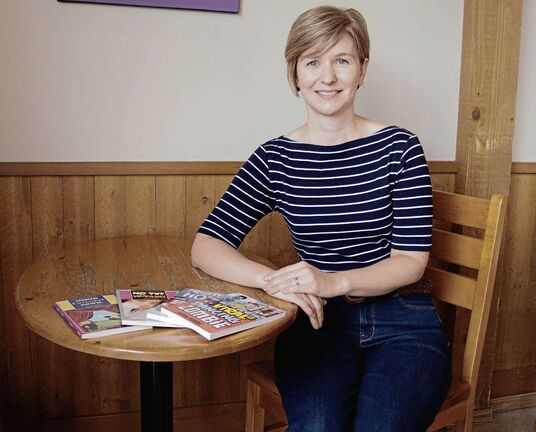 Local author hoping to make a splash