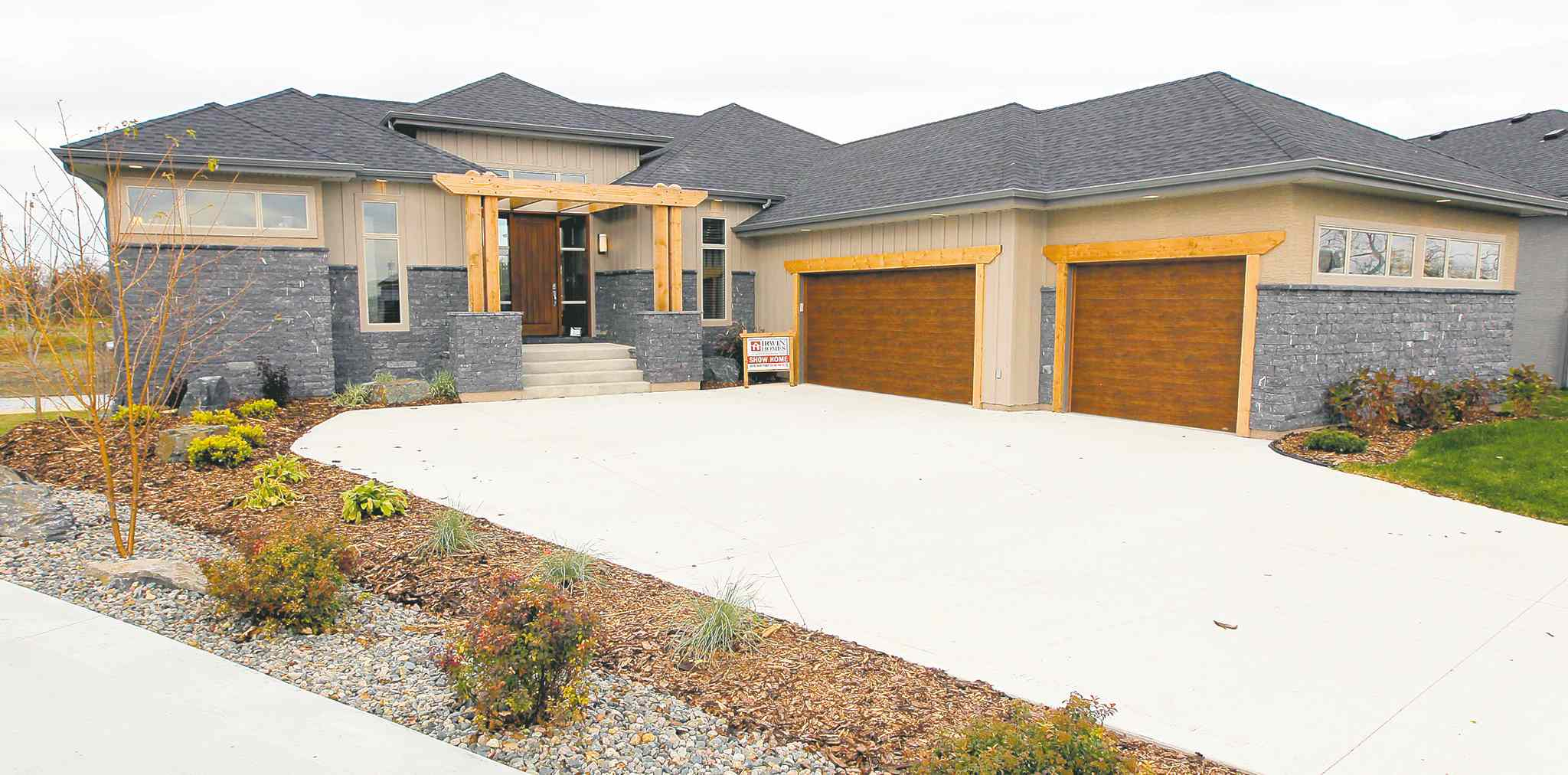 This new 1,900-square-foot home in Countryside Crossing, East St. Paul, was designed for livability.