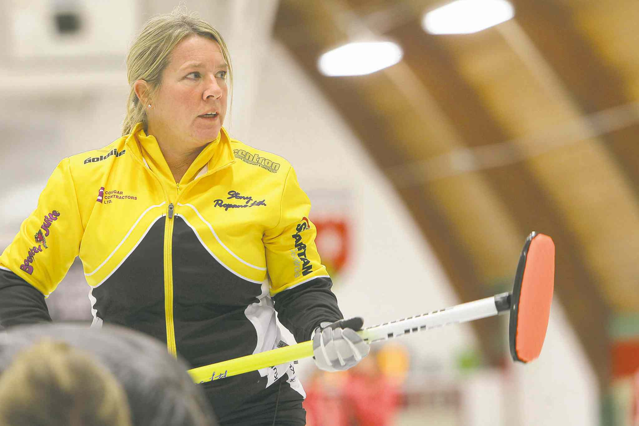 Cathy Overton is back in her hometown, curling in the Manitoba Liquor and Lotteries Classic at Fort Rouge.