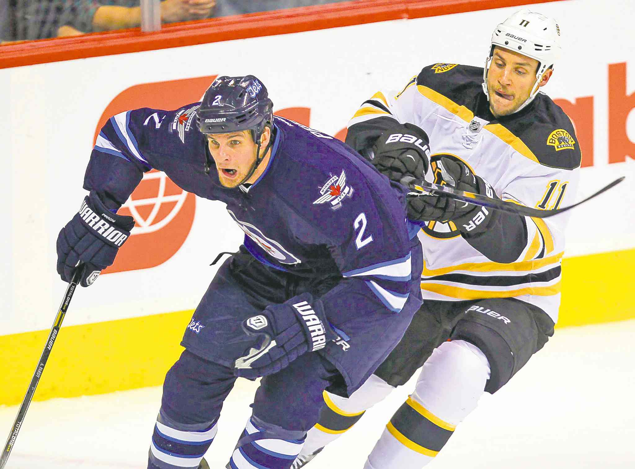 Winnipeg Jets defenceman Adam Pardy will likely be seeing more ice now that Paul Postma is on the shelf for the foreseeable future.
