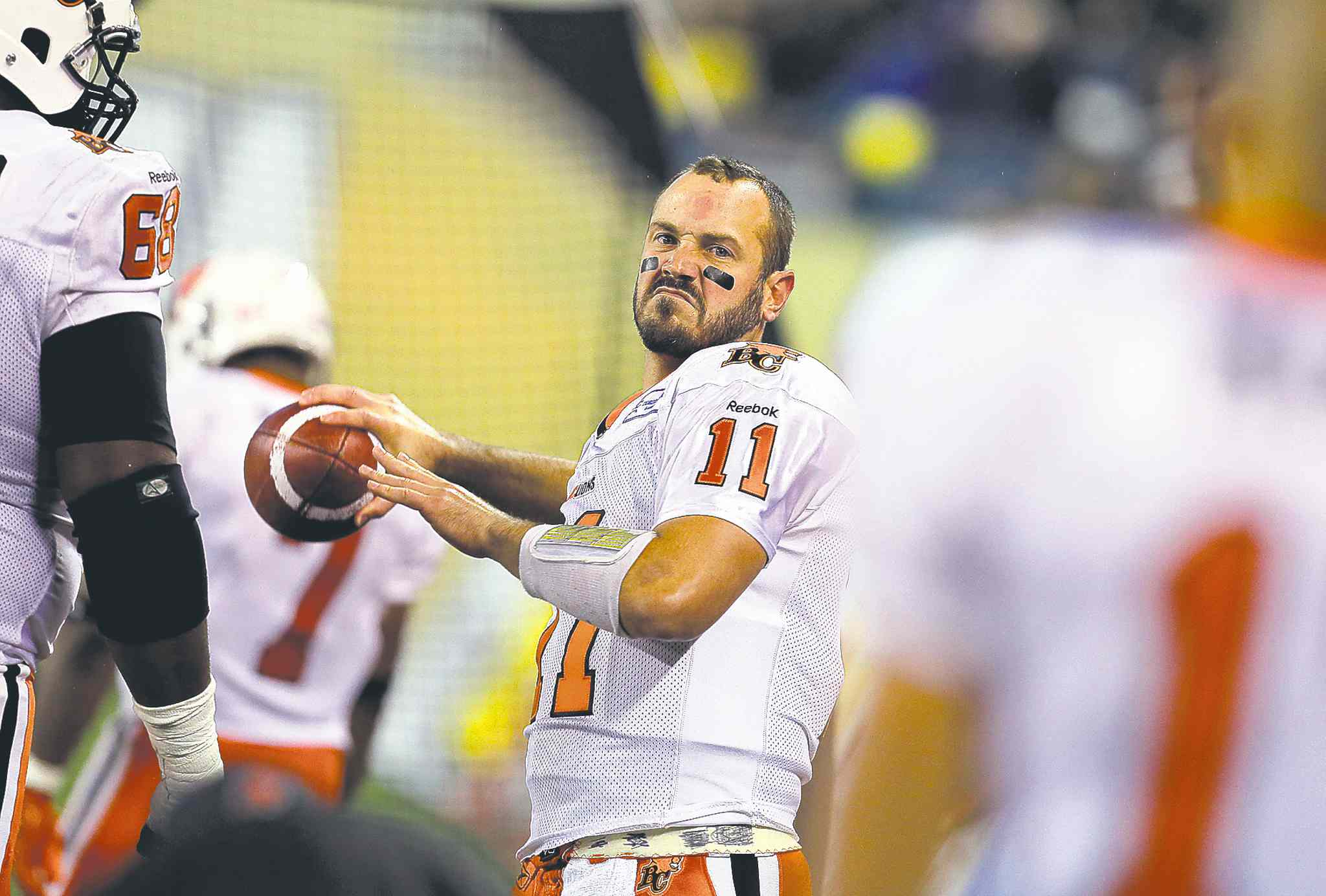 B.C. Lions quarterback Buck Pierce (above) is expected to get some playing time against the Stampeders along with No. 1 QB Travis Lulay, who is returning from injury.