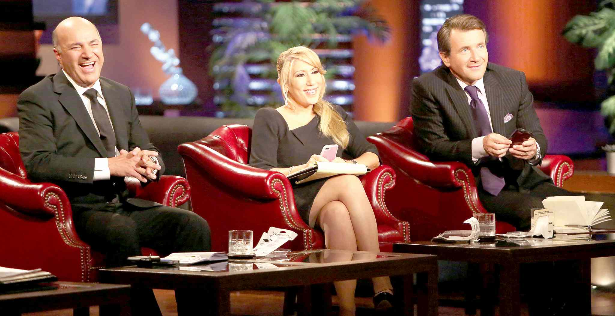 Adam Taylor / Courtesy ABC/ MCTKevin O�Leary, left, with co-hosts Lori Greiner and Robert Herjavec on the ABC show Shark Tank.