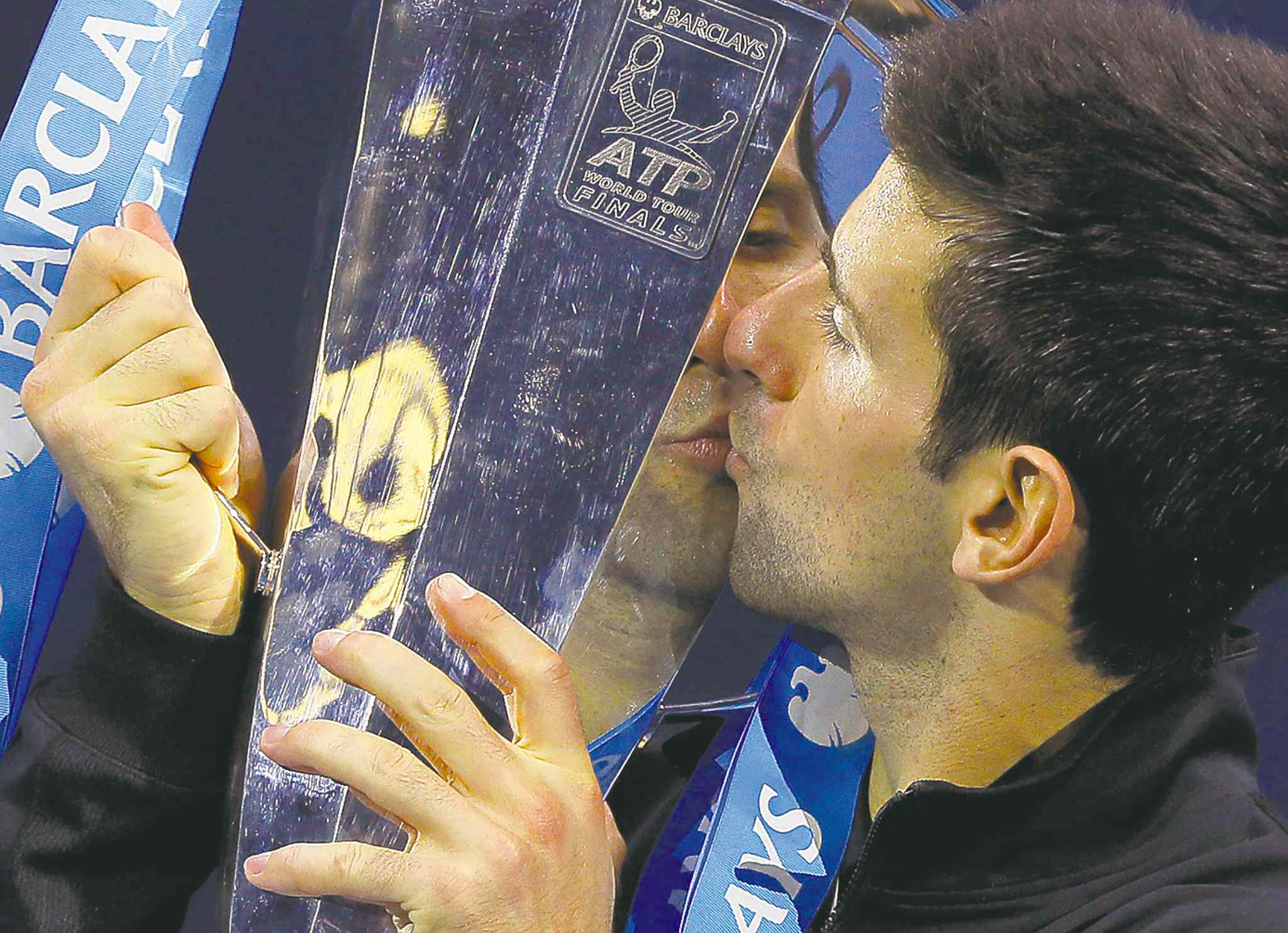 Djokovic puckers up on the only big trophy still eluding Nadal.