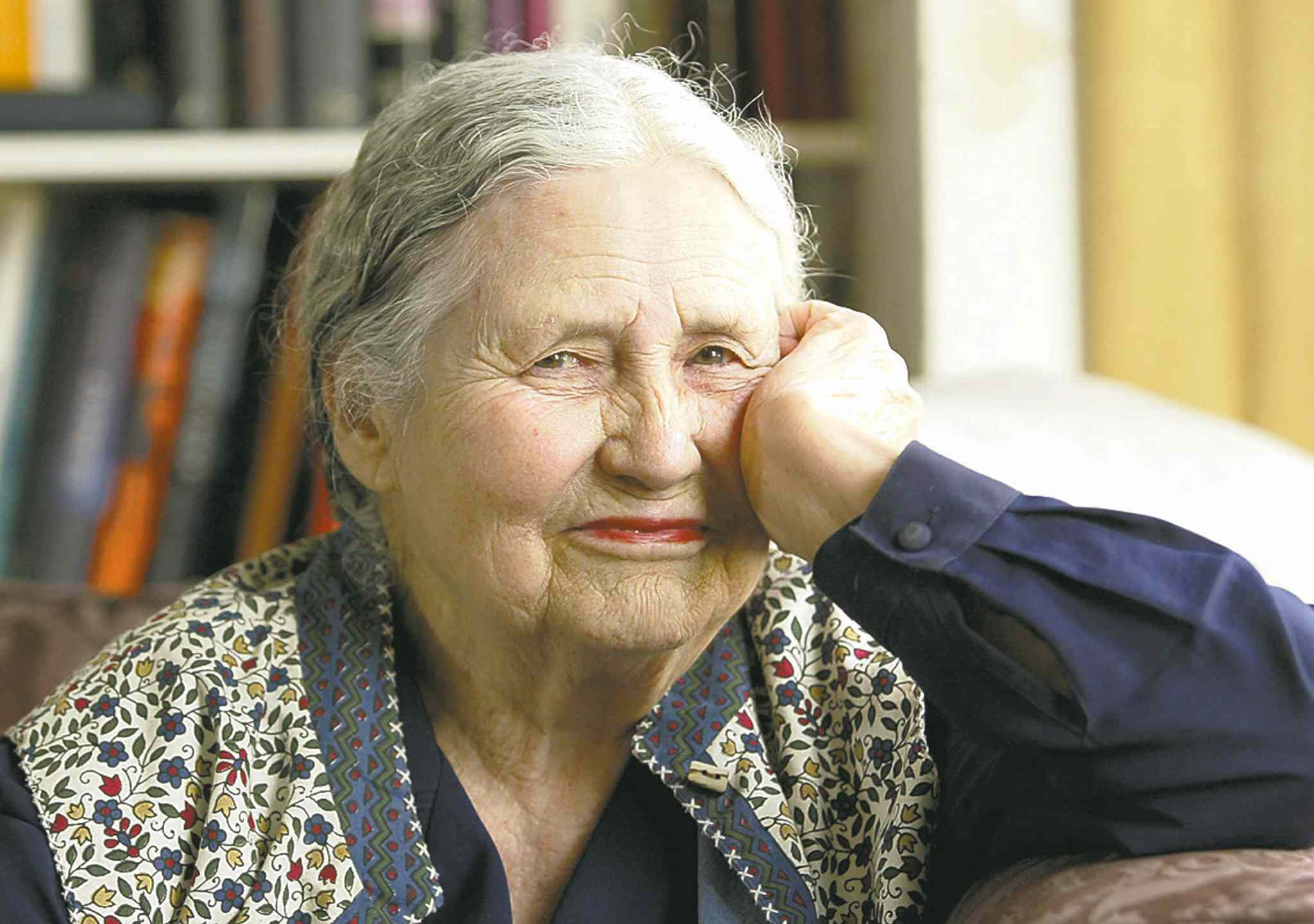 Doris Lessing wasn't entirely impressed when she won the Nobel Prize in 2007.