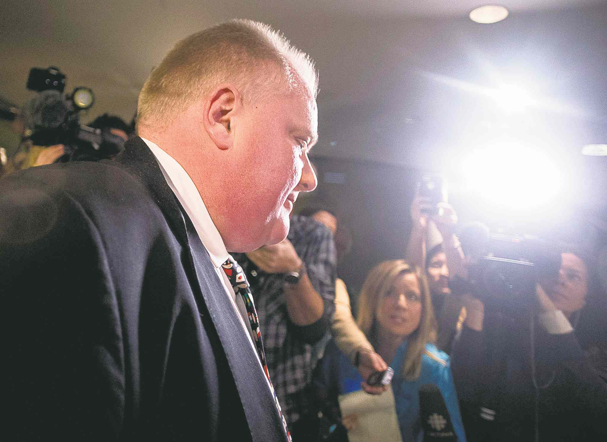 Mayor Rob Ford told a Toronto TV station he has had a 'come to Jesus moment' and hasn't had alcohol in three weeks or done drugs recently.