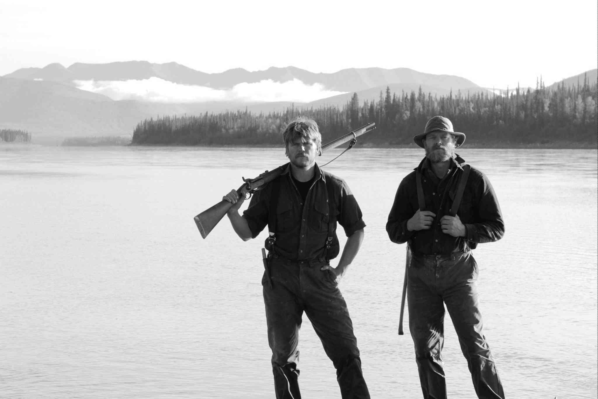 Supplied photo / The Canadian PressStrike out: Brett Rogers, left, and Cliff Quinn take a trip back in time to the 19th century, but fail to mine any gold on new reality series.