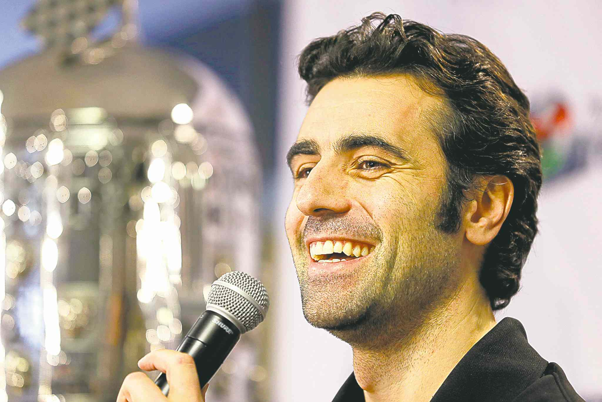 Michael Conroy / the associated pressDario Franchitti answers questions in his first public appearance since a crash ended his IndyCar career. during a press conference in Indianapolis, Thursday, Dec. 19, 2013. The four-time series champ and three-time Indianapolis 500 winner will not race again because of the risks involved with another head injury. He suffered a concussion, spinal fractures and a broken right ankle in the Oct. 6 crash in Houston. (AP Photo/)