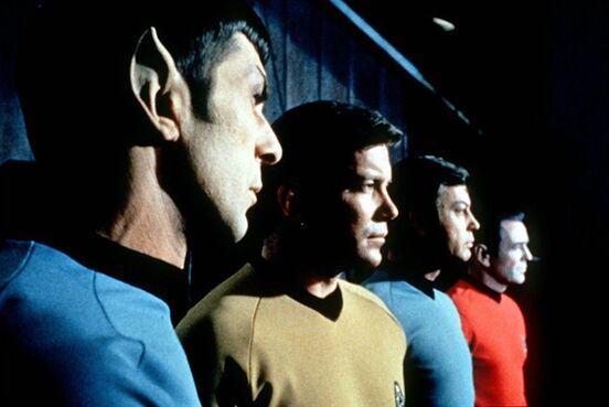 This undated file photo shows actors in the TV series