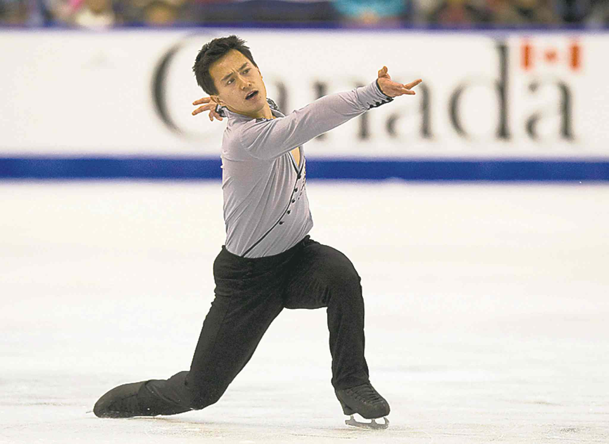 Patrick Chan is the odds-on favourite to win gold in men's figure skating.