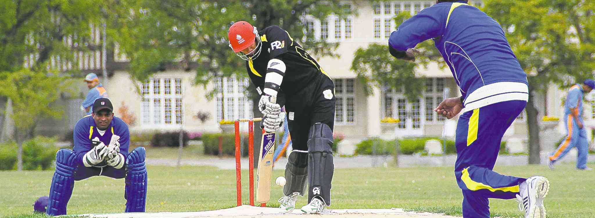 Dakota Collegiate will soon be helping young batsmen hone their skills in the venerable game of cricket. Next spring and summer, kids from the southeast part of the city will be able to practise in two new batting cages at the St. Vital high school.