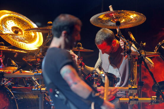 American alternative-metal band Godsmack rocked the MTS Centre Wednesday night to a crowd of enthusiastic fans.