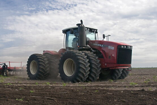 Buhler Industries is slowing production in response to slow sales, but is growing the dealer network for its Versatile line of tractors for when the market picks up.