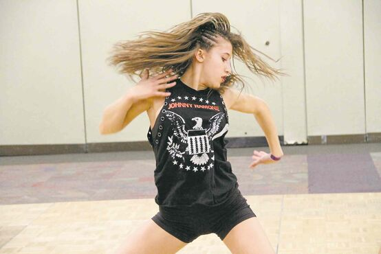 Nov. 19, 2014 - Jaydee-Lynn McDougall dances at the Triple Threat Dance Convention in Winnipeg. (SUPPLIED PHOTO/CANSTAR COMMUNITY NEWS/SOU'WESTER)