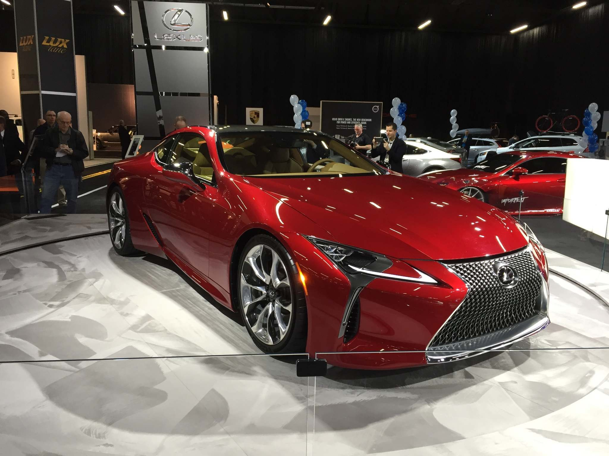 KELLY TAYLOR / WINNIPEG FREE PRESSThe new Lexus LC 500 is a sleek, luxury coupe powered by a 5.0-litre V-8 engine.