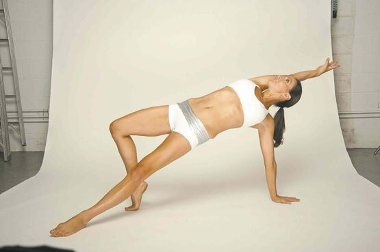 Leah Sarago FitnessLeah Sarago has produced more than 130 workout videos.