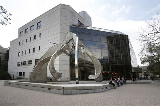 Manitoba Law Court building is pictured in Winnipeg, on August 18, 2014. THE CANADIAN PRESS/John Woods