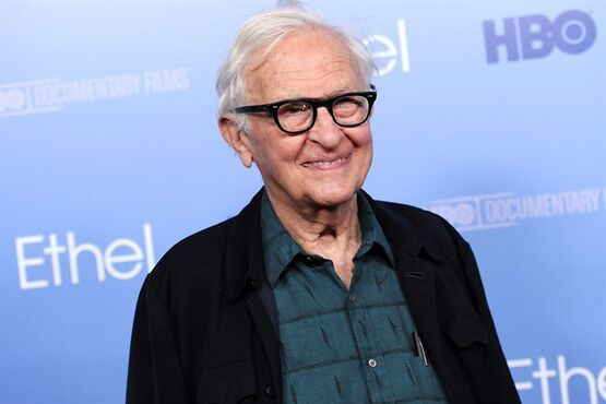 FILE - In this Oct. 15, 2012 file photo, filmmaker Albert Maysles attends the premiere of the HBO documentary