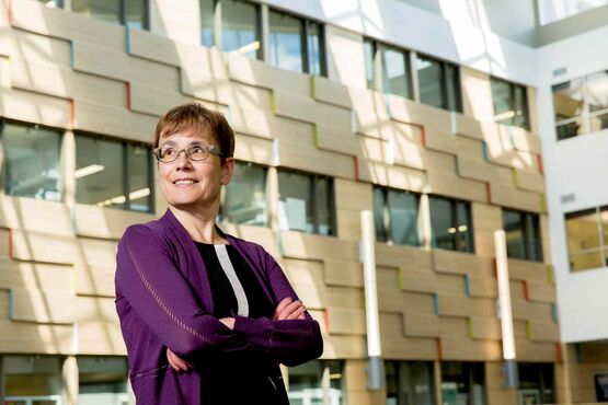 Dr. Annette Trimbee likened herself to a first-year university student attending orientation. Trimbee was named The University of Winnipeg's seventh president and vice-chancellor.