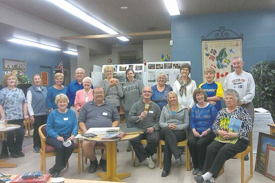 The Swedish Cultural Association has established a study group to examine Swedish immigration to Manitoba. Its members are pictured here and the next meeting is Jan. 9 at the Scandinavian Cultural Centre.