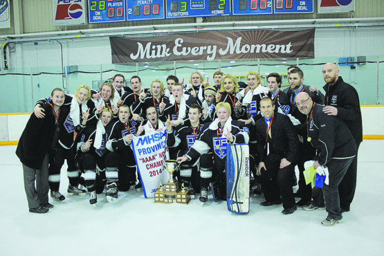 The Oak Park Raiders beat defending champs St. Paul's Crusaders for the MHSAA provincial championship.