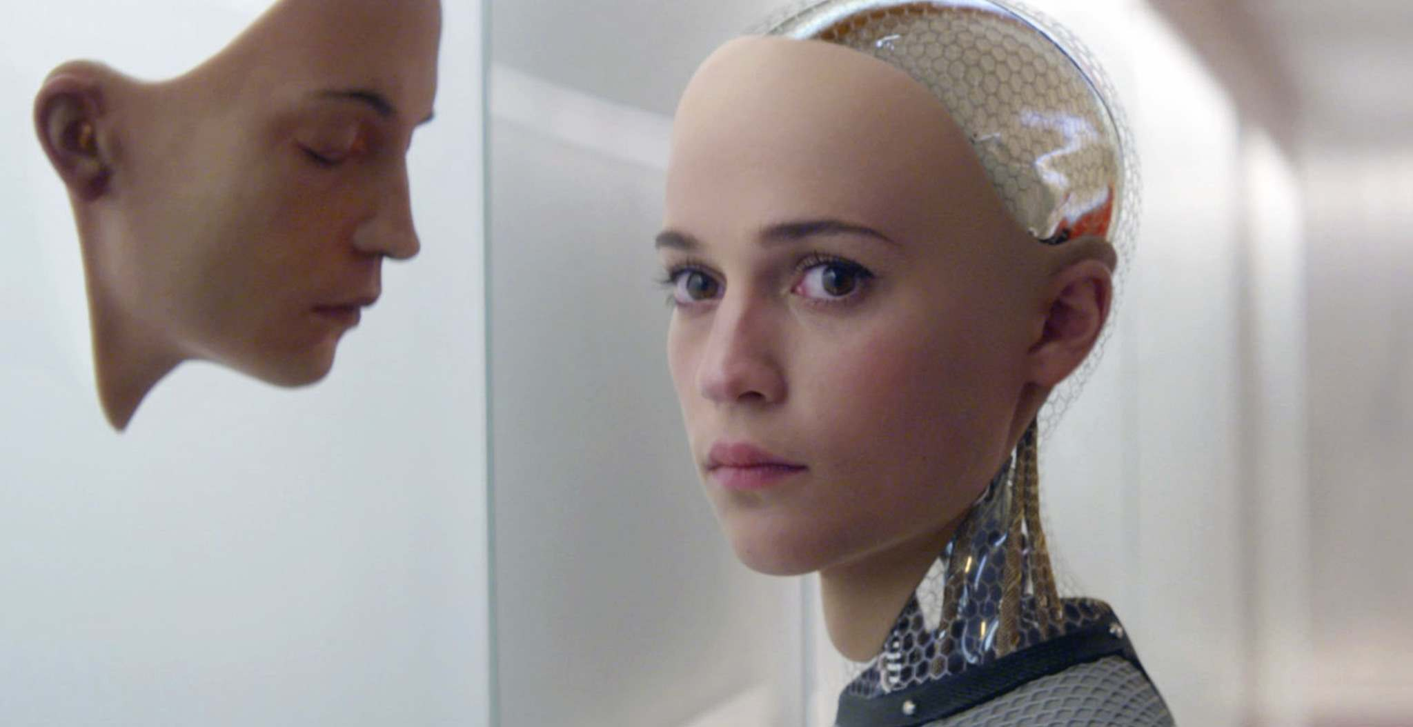 A24 FILMS</p><p>Artificial intelligence, such as the brains within the android Ava of the movie <em>Ex Machina</em>, is a made-in-Canada technology. </p>