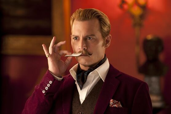 In this image released by Lionsgate, Johnny Depp appears in a scene from