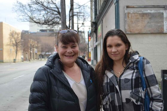 Kimberly Bouvette (left) and her niece Jessica Luna are hoping to bring a 24/7 safe house for youth to the West End.