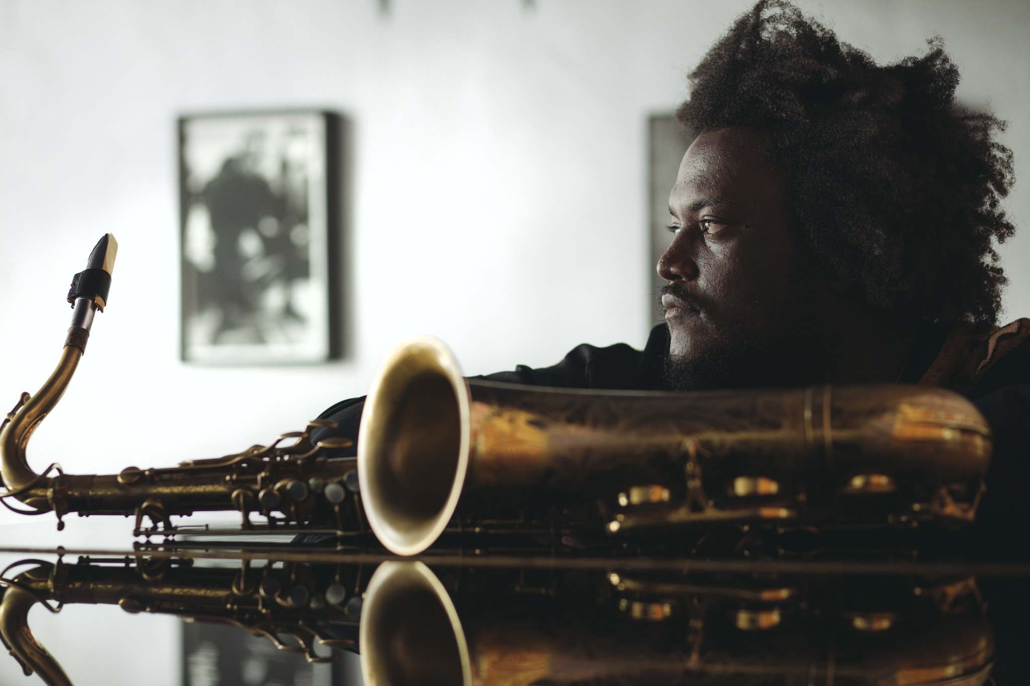 Kamasi Washington has recorded with the likes of Kendrick Lamar, Lauryn Hill and Mos Def.</p>