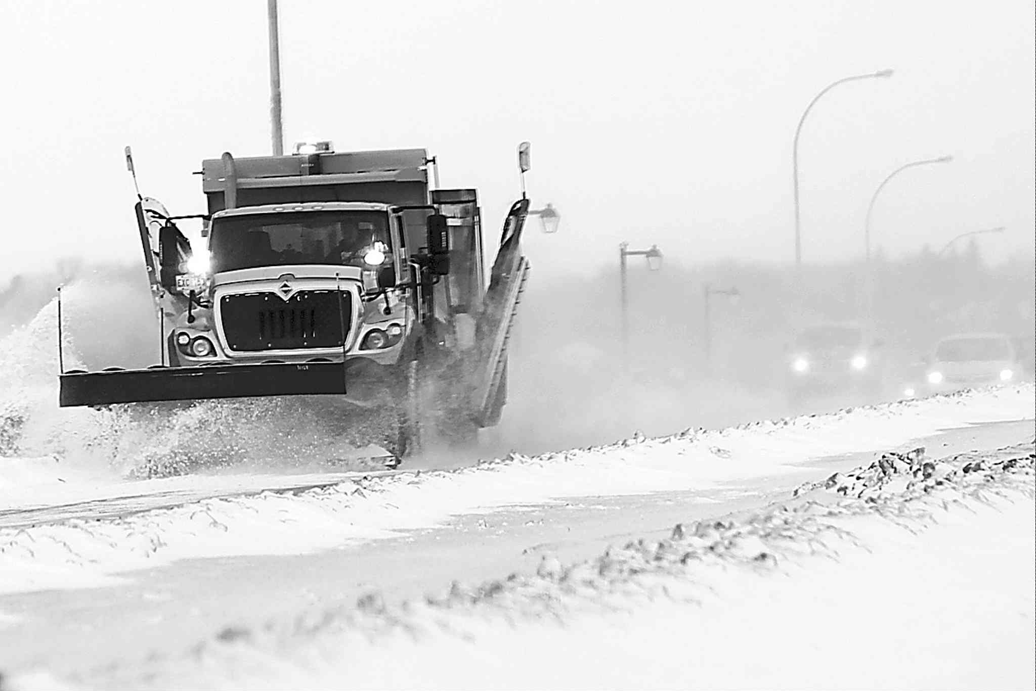 Snowfall has not forced schools in Winnipeg or northern centres to close so far this winter.