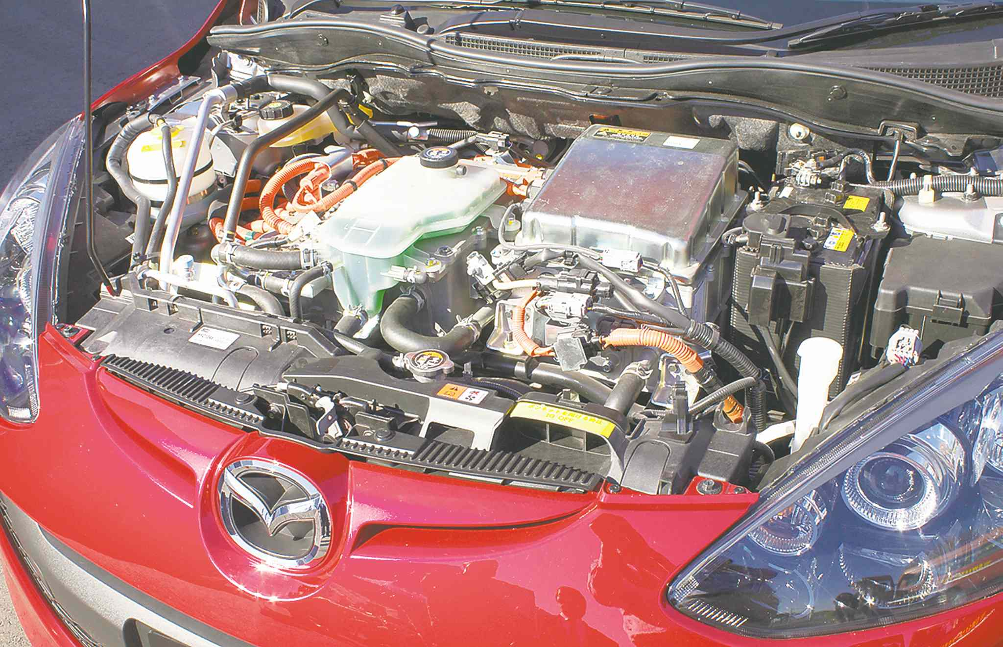 The Mazda2 EV hybrid prototype marks a return to the rotary engine.