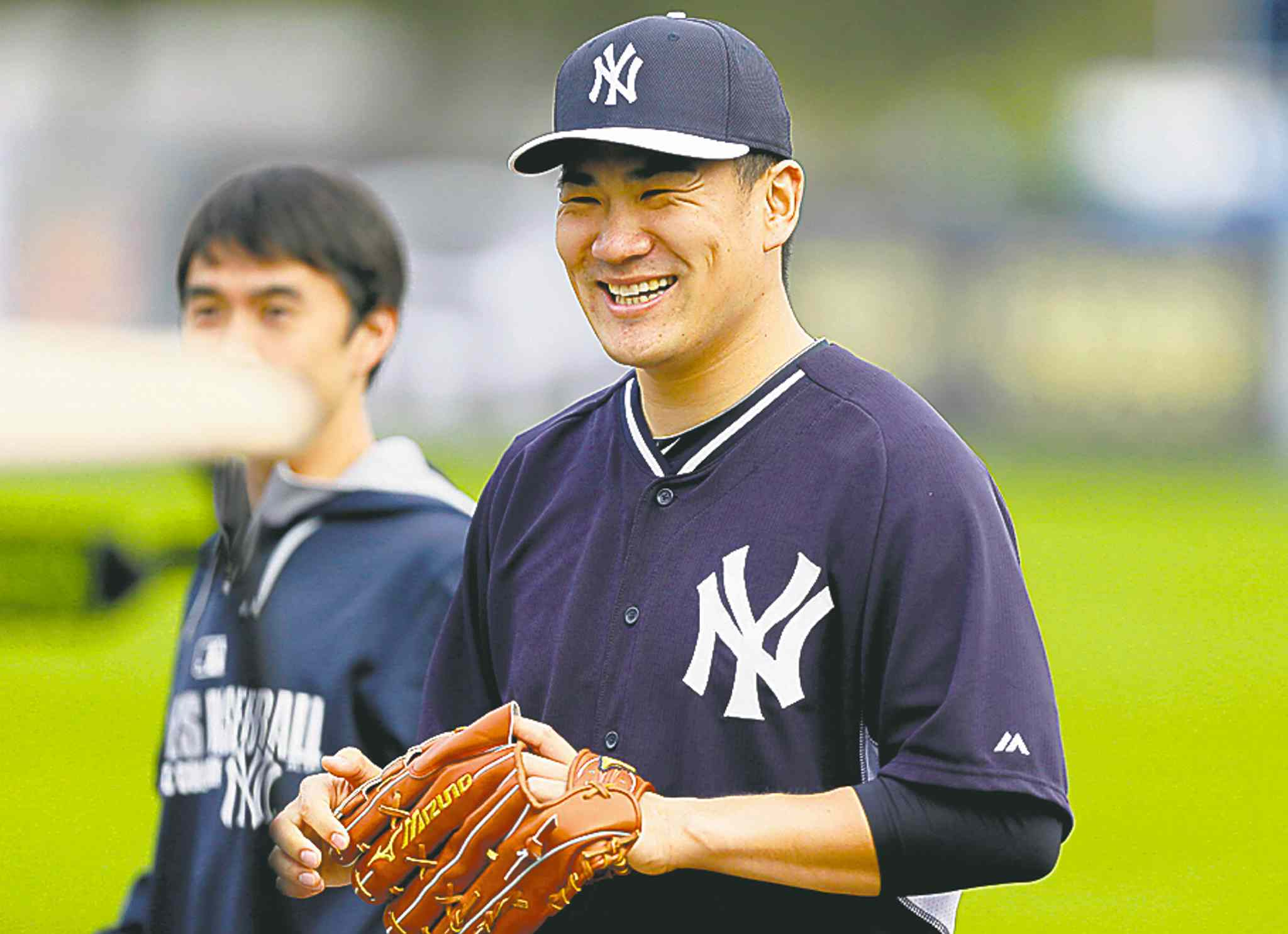 Yankees starter Masahiro Tanaka never says no to an interview request although he has a full-time interpreter and media liason assisting him.